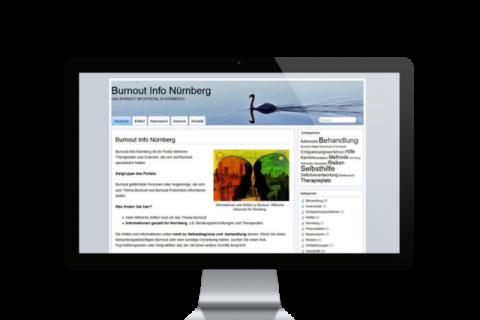 online marketing und seo für burnout info nürnberg