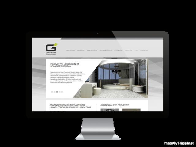 seo und online marketing f r gossmann spanndecken in n rnberg. Black Bedroom Furniture Sets. Home Design Ideas