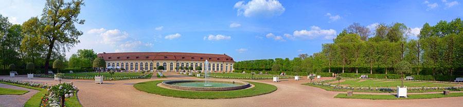 Ansbach - Schlossgarten - Panorama