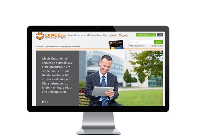Web Consulting für Dipeo aus Nürnberg