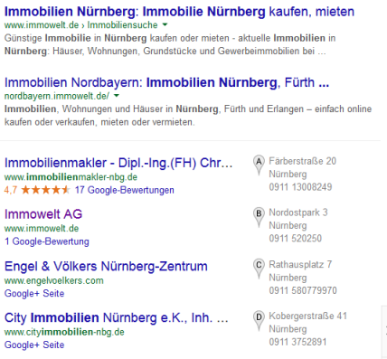 Lokal-SEO-Block-Google