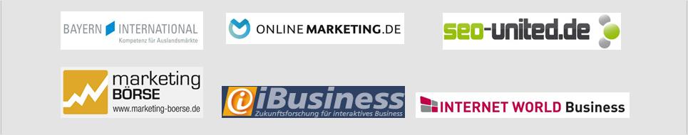 Bekannt aus Online Marketing und SEO Medien