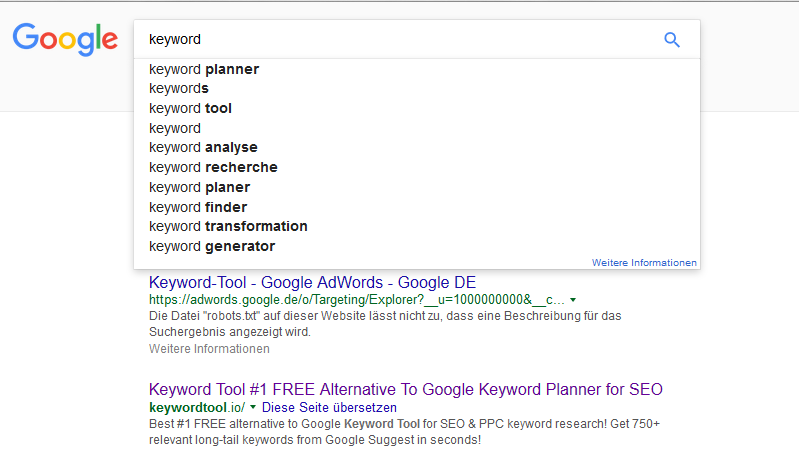 google-suggest-keyword-analyse