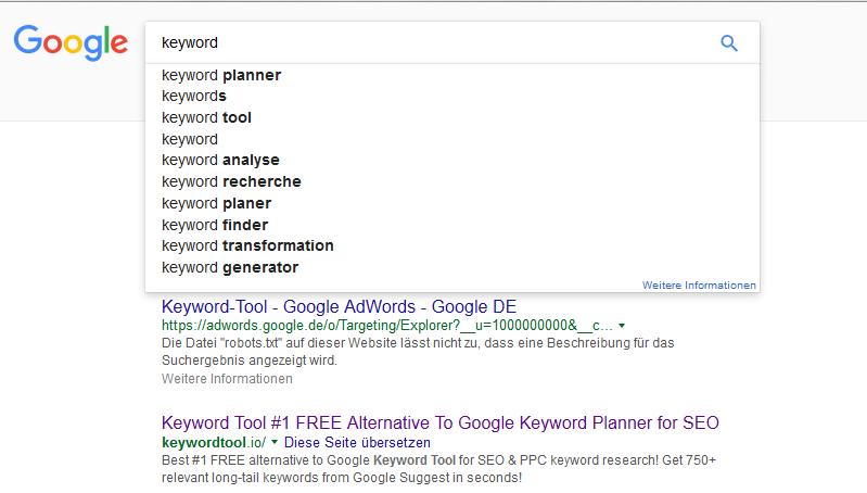 google-suggest-keyword-analyse
