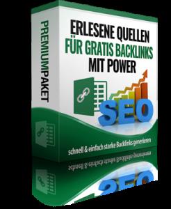 Paket: Erlesene Quellen für kostenlose Backlinks!